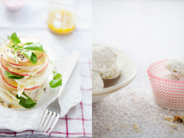 Pear, Apple and Fennel Salad and More Holiday Cookies :: Cannelle et ...