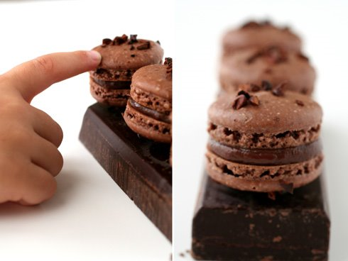 Chocolate Macarons and a Tropical Storm :: Cannelle et Vanille