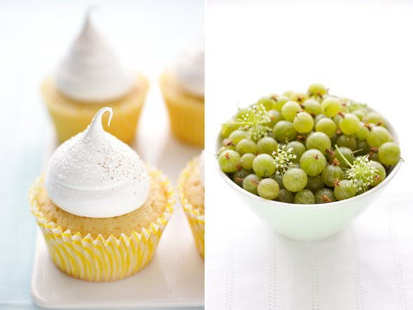 Red Currant and Poppy Seed Cakes, Arroz con Leche Cupcakes, Summer