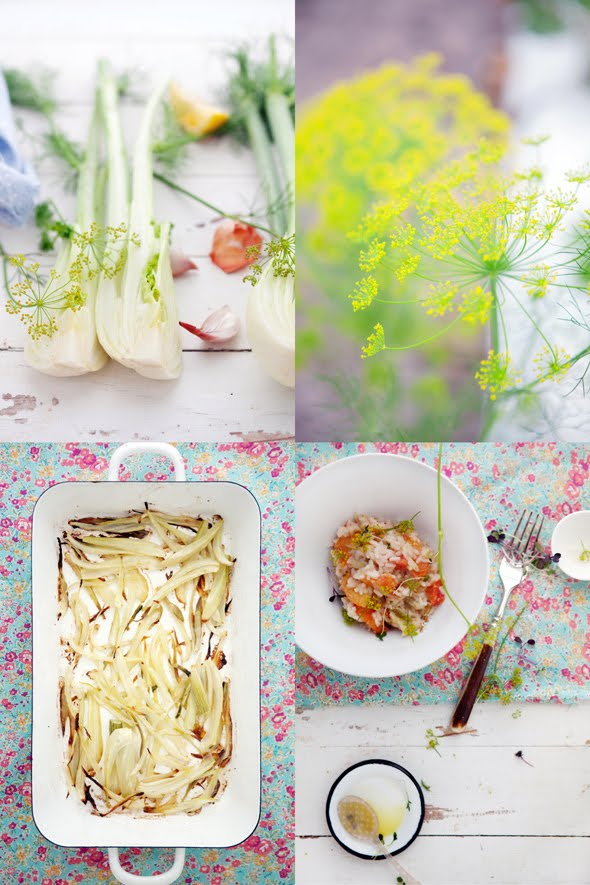 ... favorite things to eat. Salad and risotto – both quick and filling