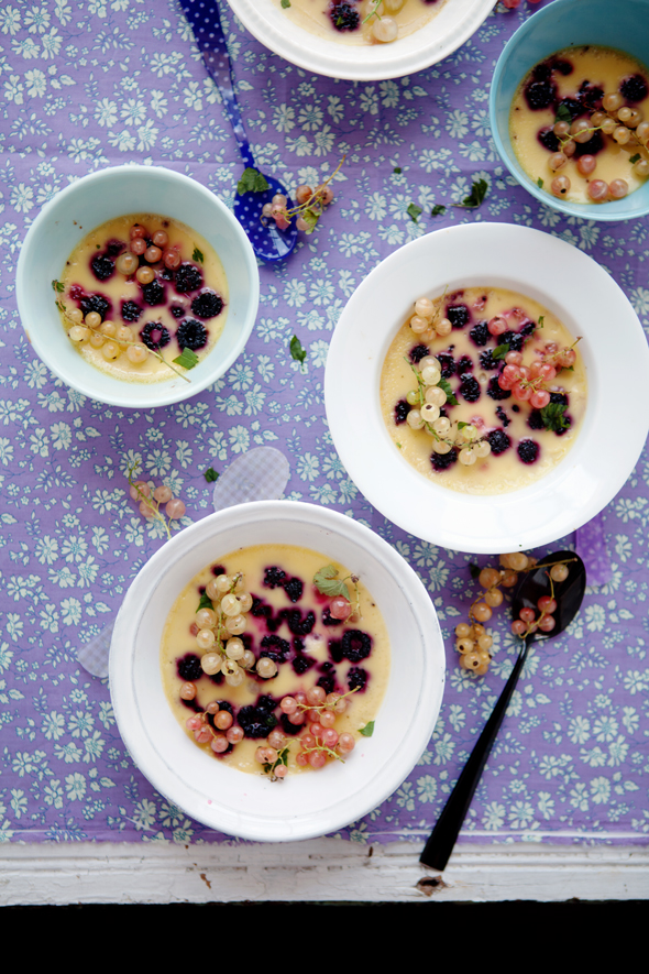 ... Lime-flavored Black Raspberry And Currant Custard Recipes — Dishmaps