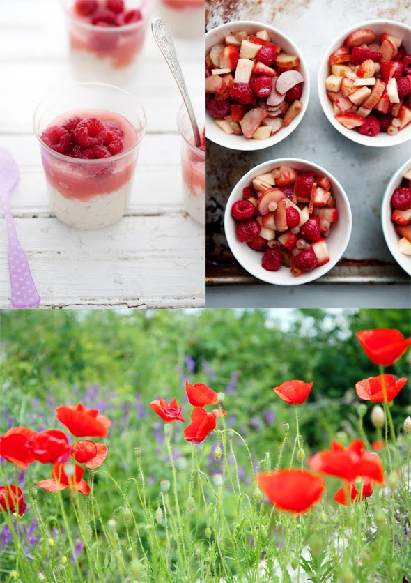The scent of poppy flower sugar in my kitchen and a ...