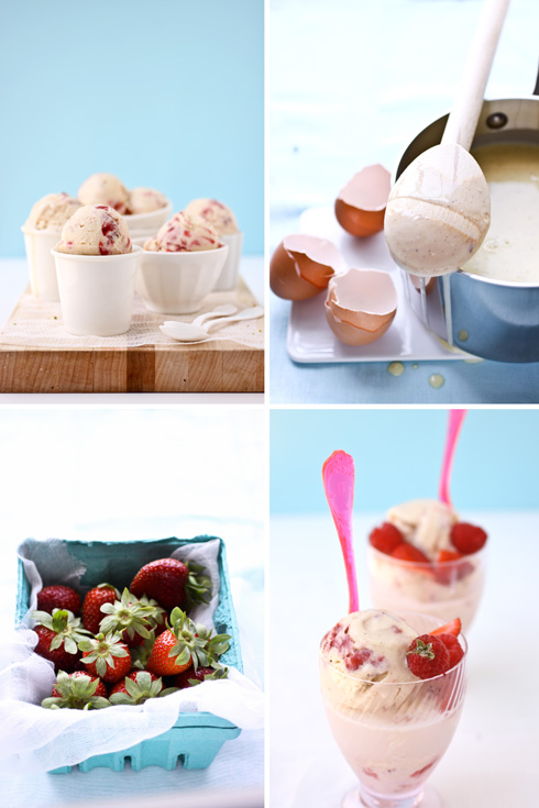 Strawberry and Vanilla Bean Ice Cream Floats :: Cannelle ...