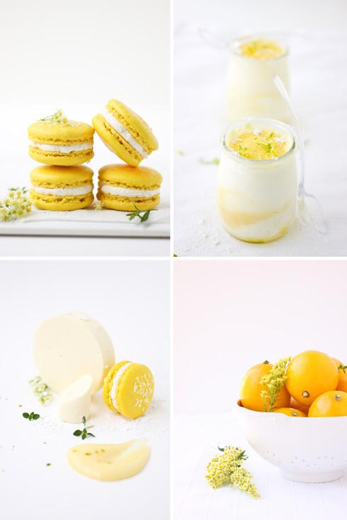 Meyer Lemon Semifreddo and Some Macarons :: Cannelle et Vanille