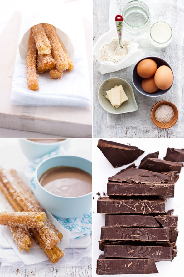 Churros with Spiced Chocolate Bisque to Satisfy a Late Pregnancy ...