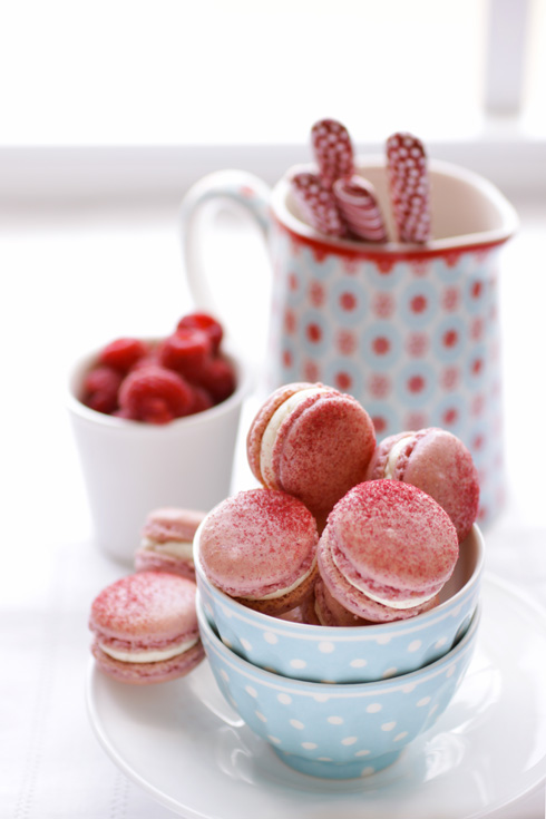Raspberry and Pink Peppercorn Macarons and a Little Giveaway ...