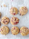 Gluten-free cranberry and quinoa scones