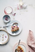 Rhubarb and rose cake | Cannelle et Vanille