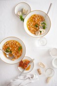 White bean and chorizo soup | Cannelle et Vanille