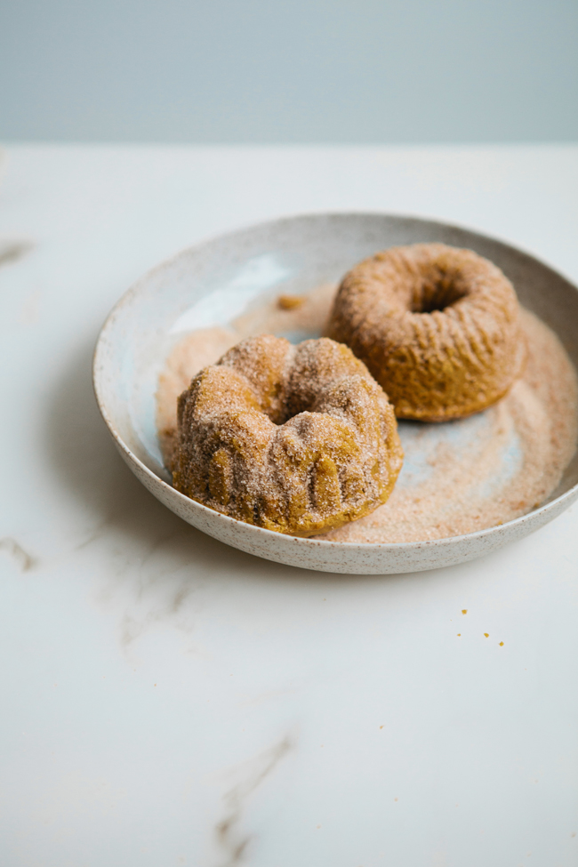 Pumpkin brown-butter cakes | Cannelle et Vanille