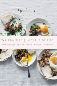 Aran Goyoaga Food Photography Workshop | Brooklytn, April 25-26