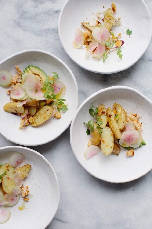 Potato salad | Cannelle et Vanille