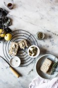 Gluten-free oat and honey bread with Asian pears and blue | Cannelle et Vanille