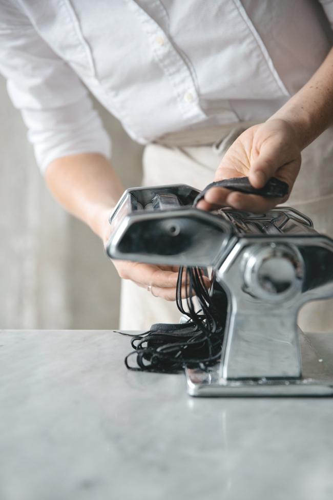 Gluten-free squid ink pasta | Cannelle et Vanille