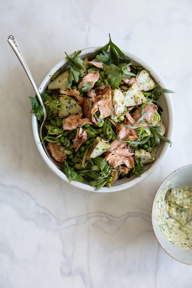potato and smoked salmon salad by The Pantry Seattle | Cannelle et Vanille