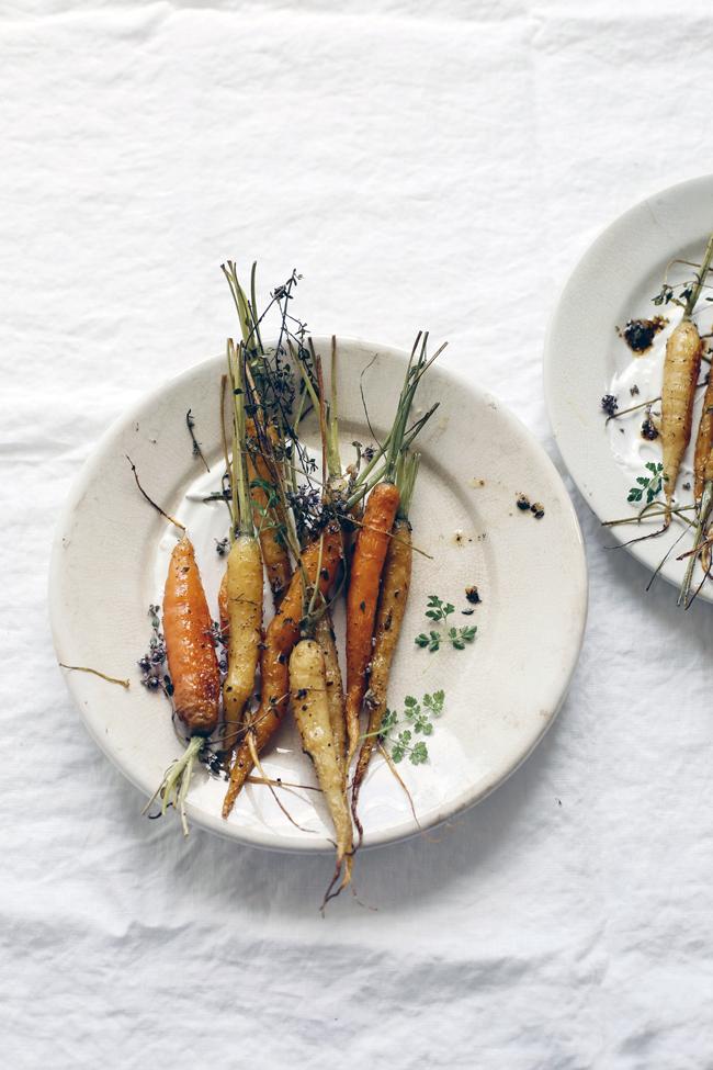 Burnt carrots by Aran Goyoaga