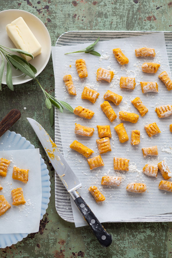 Pumpkin, Quinoa, and Hazelnut Gnocchi recipe